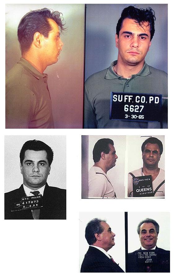 John Gotti mug shot