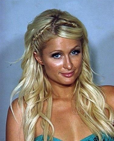 Paris Hilton mug shot 2010