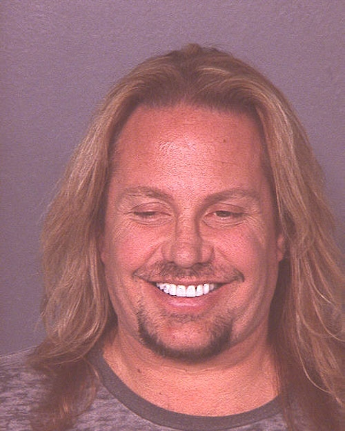 Vince Neil mug shot
