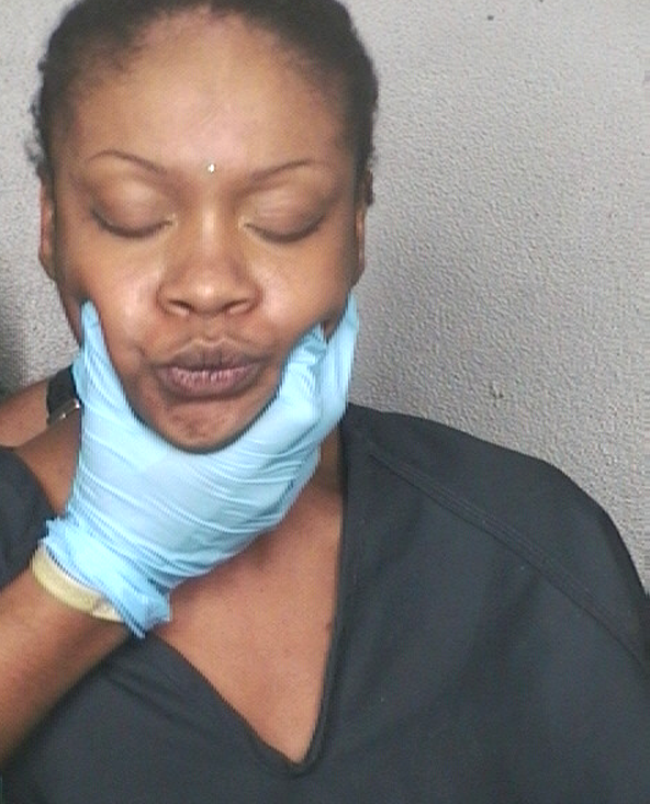 Arrested for bribery of a pubic servant, trespassing.