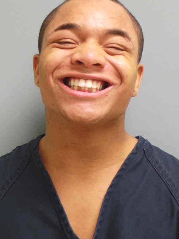 Arrested for assault, resisting law enforcement.