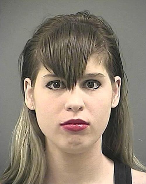 Arrested for speeding in a school zone.