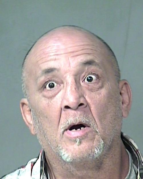 Arrested for shoplifting.