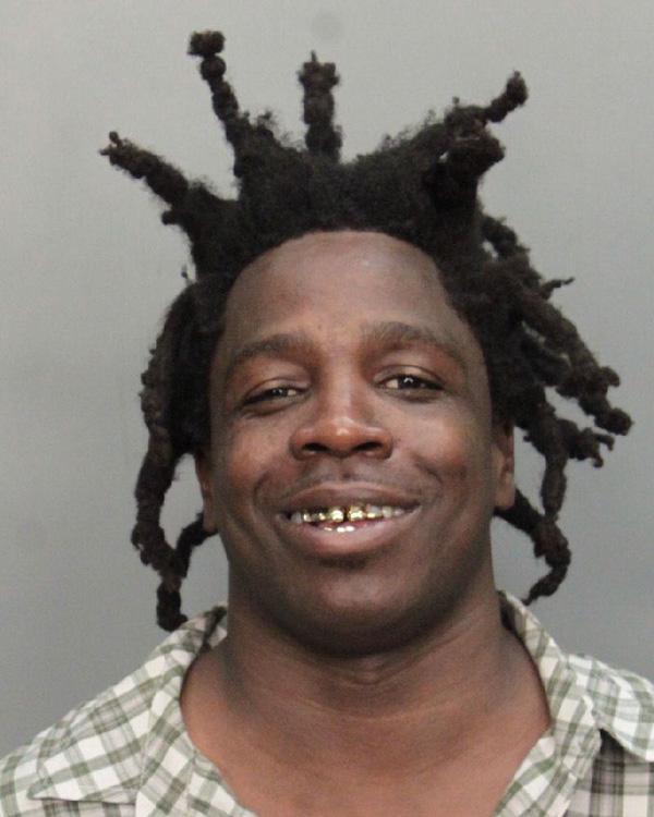 Arrested for resisting arrest without violence.