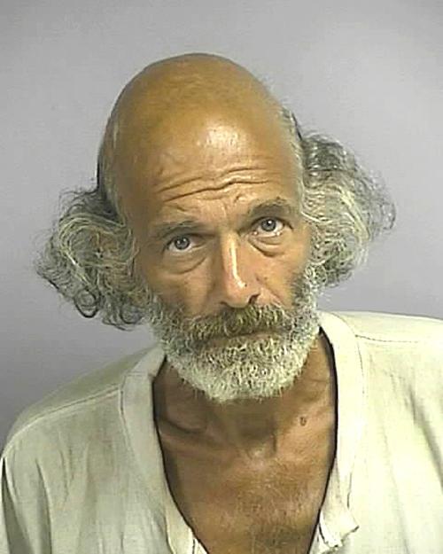 Arrested for indecency.