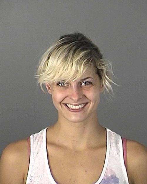 Arrested for driving with an invalid license.