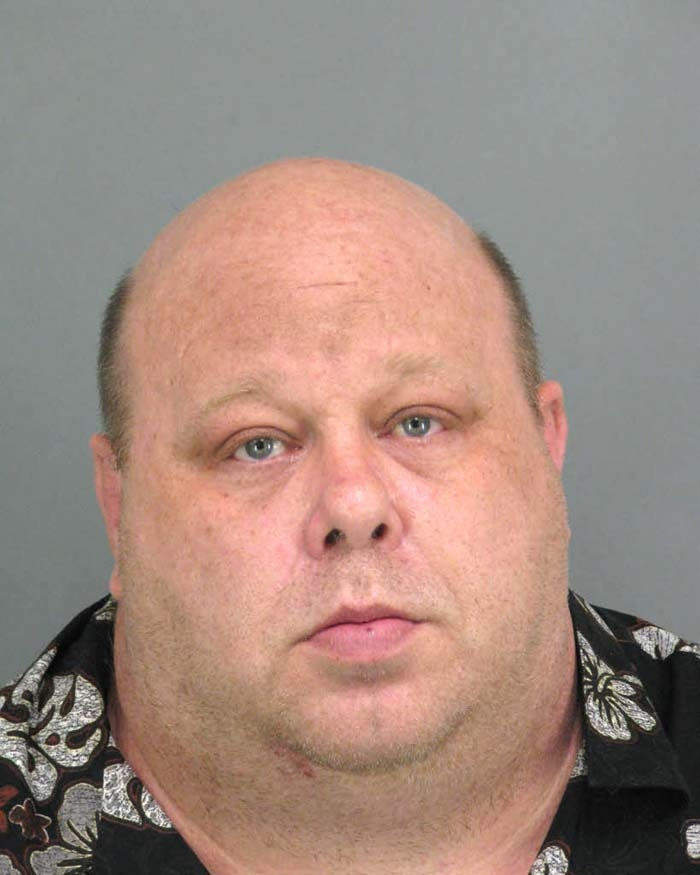 Arrested on a bench warrant out of family court.