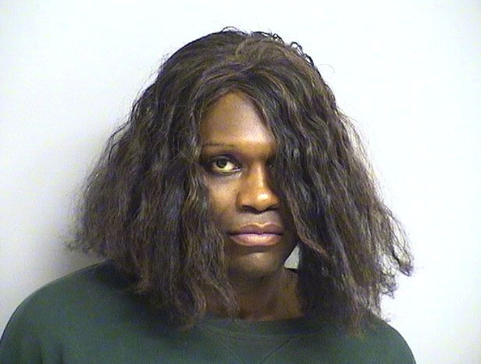 Arrested for robbery.