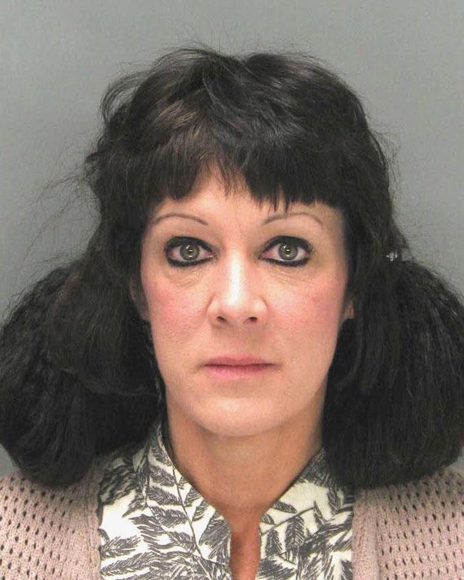 Arrested for violating probation.