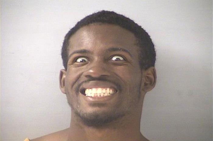 Arrested for felonious assault.