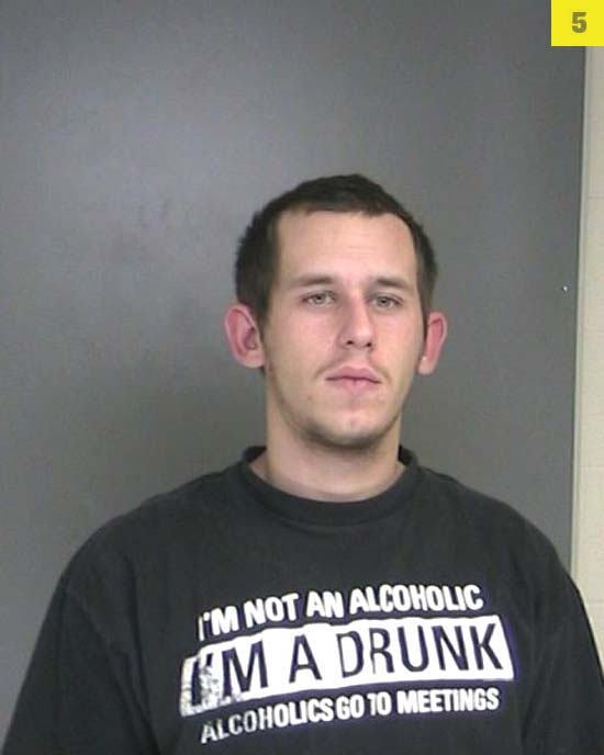 Kevin Daly, 22, was arrested in November for drunk driving after he crashed his