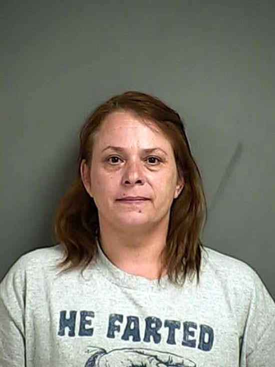 Arrested for criminal mistreatment.