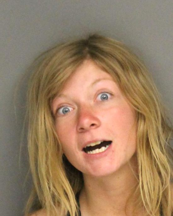 Arrested for theft.