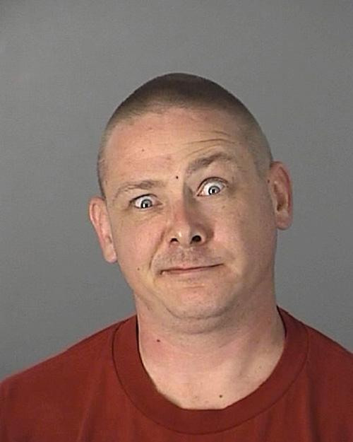 Arrested for domestic battery by strangulation.