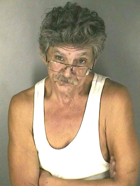 Arrested for tampering with a witness, domestic battery.