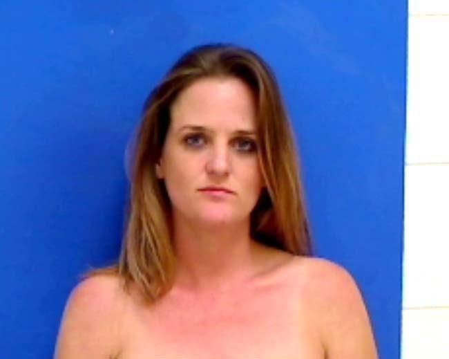 Arrested for criminal contempt.