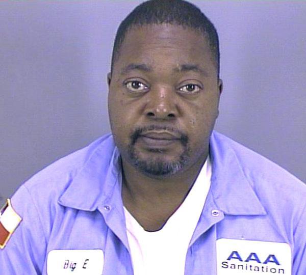 Arrested for evading arrest.