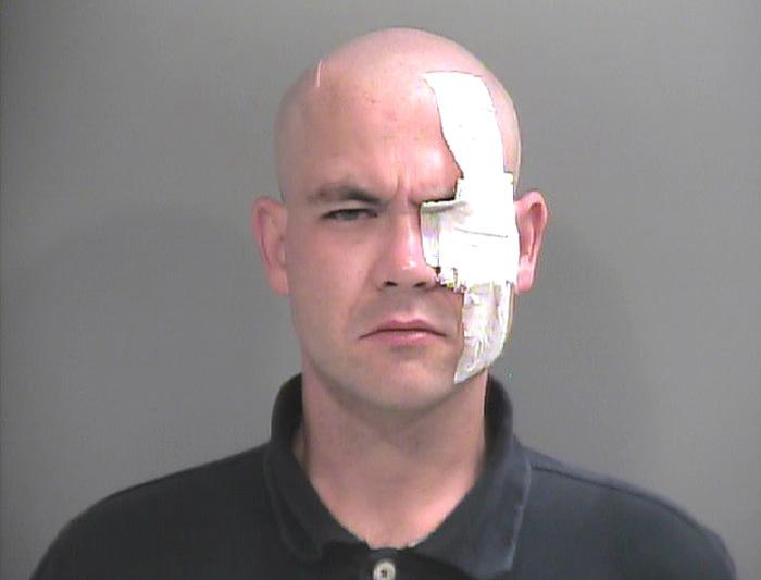 Arrested for burglary, theft.