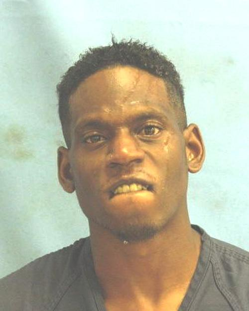 Arrested for assault, possession of a controlled substance.